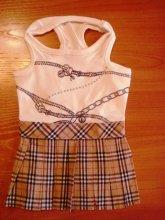 Платье Бэрберри, цена 478 руб. Подойдёт на собачку 5-6 кг.