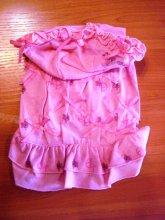 Симпатичное платьице с капюшоном хорошего объема, размеры разные. Цена 672 руб.