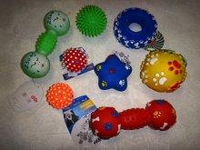 Игрушки виниловые разных видов и размеров. От 135 руб.