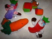 Мягкие игрушки с пищалками разных видов и размеров, от 225руб.