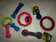 Игрушки резиновые для массажа дёсен.