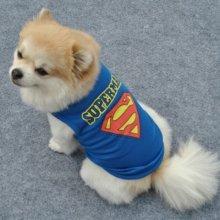 Майка Супермен для декоративных собак. Цена 435 руб.