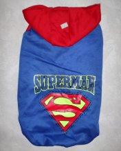 """Толстовка """"Супермен"""", размеры на мелких, средних и крупных собак. Цена от 750 руб."""