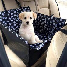 Автогамак на заднее сидение. Размер для средней или двух мелких собак. Цена 1800руб.